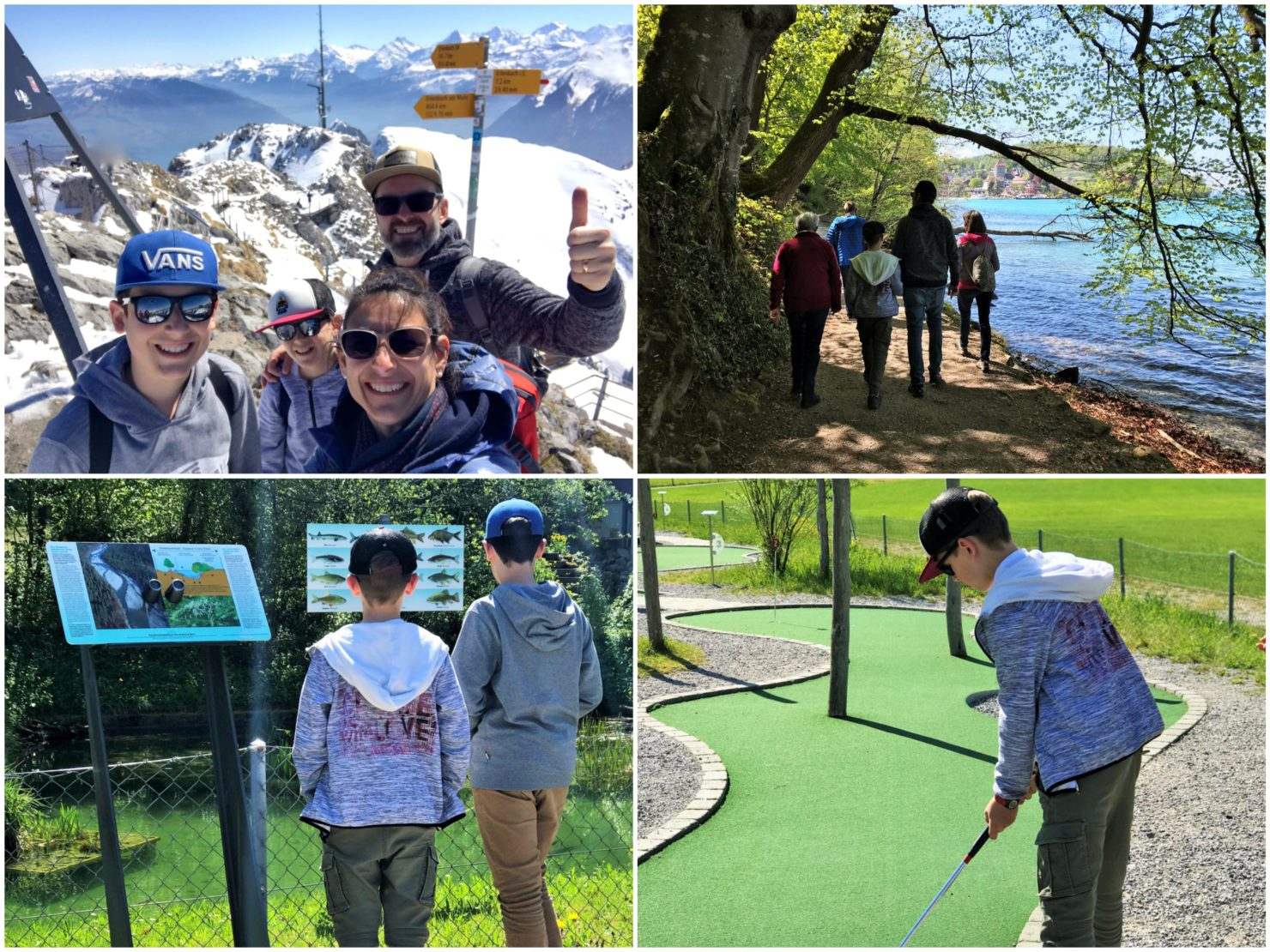 TCS Camping Thun Glamping in den Swiss Tubes und Besuch des Stockhorns