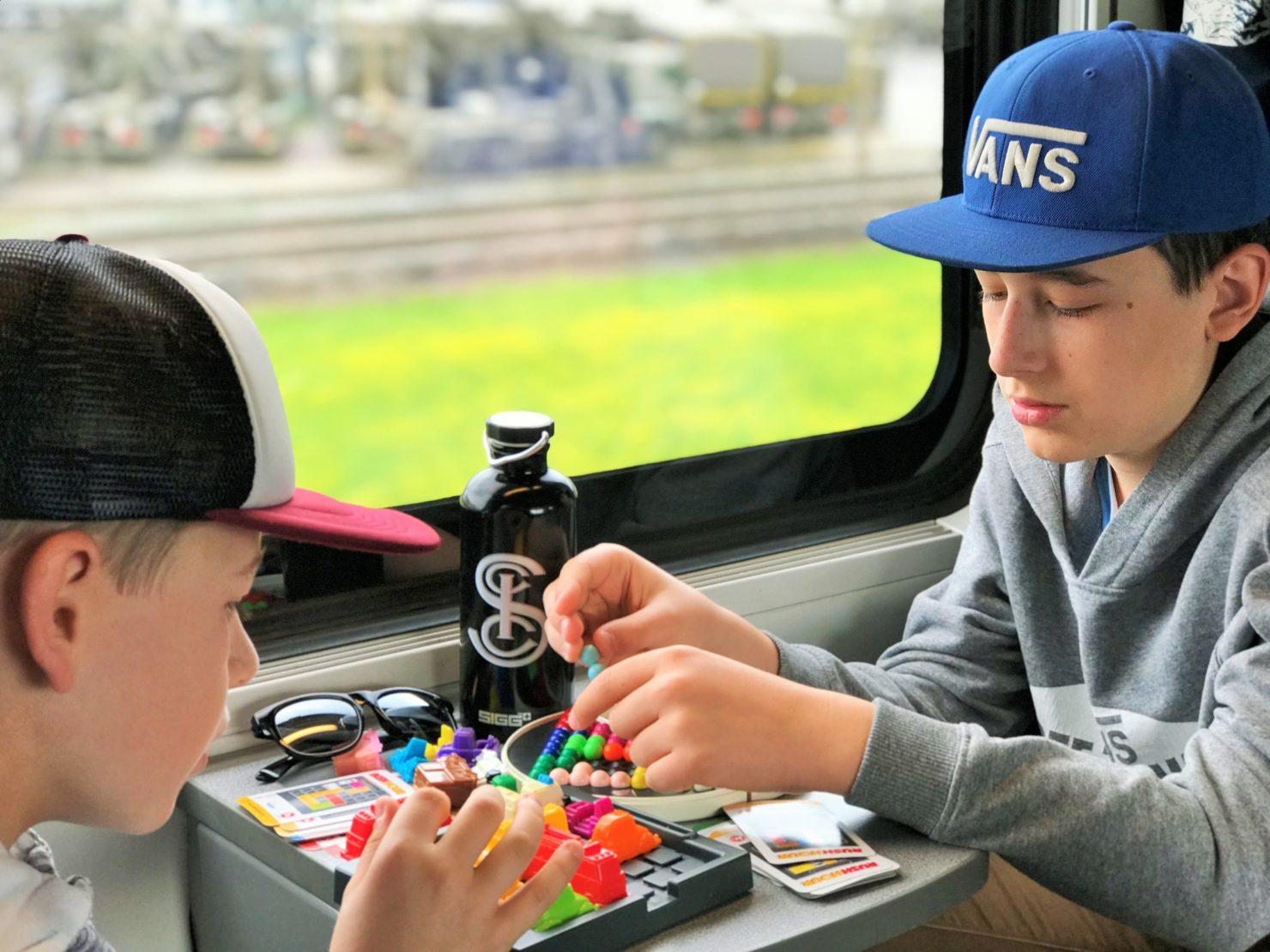 Familienferien mit dem Zug
