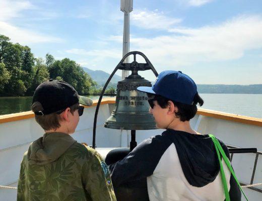 Schifffahrt auf dem Zürichsee und Besuch Inssel Ufenau
