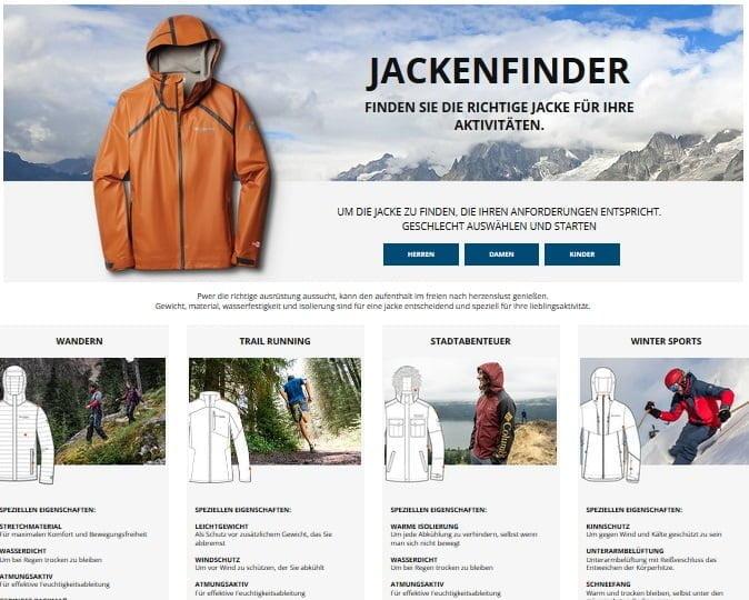 Der Jacken-Finder: Das A und O der Outdoor-Kleider