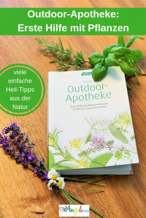 Outdoor-Apotheke: Erste Hilfe mit frischen Pflanzen für Freizeit, Sport und Reisen