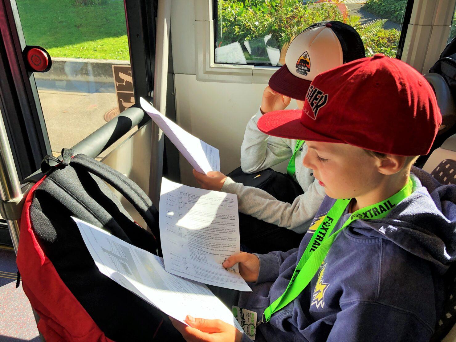 Praktisch lernen - Schüler auf ZVV-Entdeckungsreise