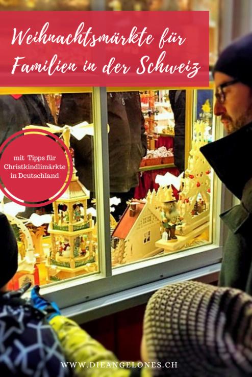 Die Advents- und Weihnachtszeit ist die Zeit der Weihnachts- und Christkindli-Märkte. In der Schweiz und in Deutschland gibt es eine Vielzahl an Weihnachtsmärkten, die sich auch für einen Familienausflug eignen. Wir haben die besten Weihnachtsmärkte und Christkindlimärkte zusammen gefasst.