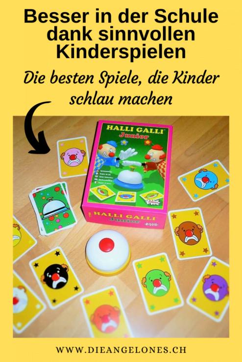 Sinnvolle Kinderspiele fördern die Intelligenz und wirken sich positiv aufs Lernen aus. Kinder, die klassische Kinderspiele wie Halli Galli, Eile mit Weile & Co. spielen, lernen auch mathematische Fähigkeiten spielend.