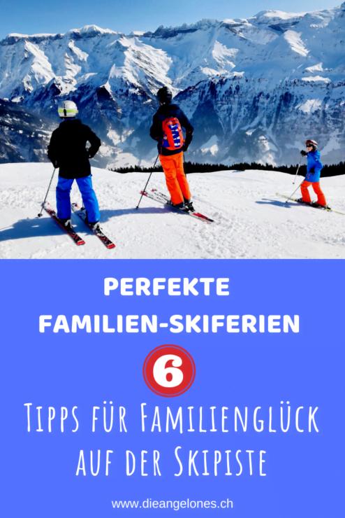 Perfekte Familien-Skiferien sind keine Illusion. Beachtet man ein paar Grundsätze können sie Kindern und Eltern viel Freude bereiten! Wir verraten euch die wichtigsten Tipps und Tricks für gelungene Familien-Skiferien. Welche Erfahrungen habt ihr in Sachen Skiferien gemacht? Welche Tipps gehören eurer Meinung nach noch auf die Liste?