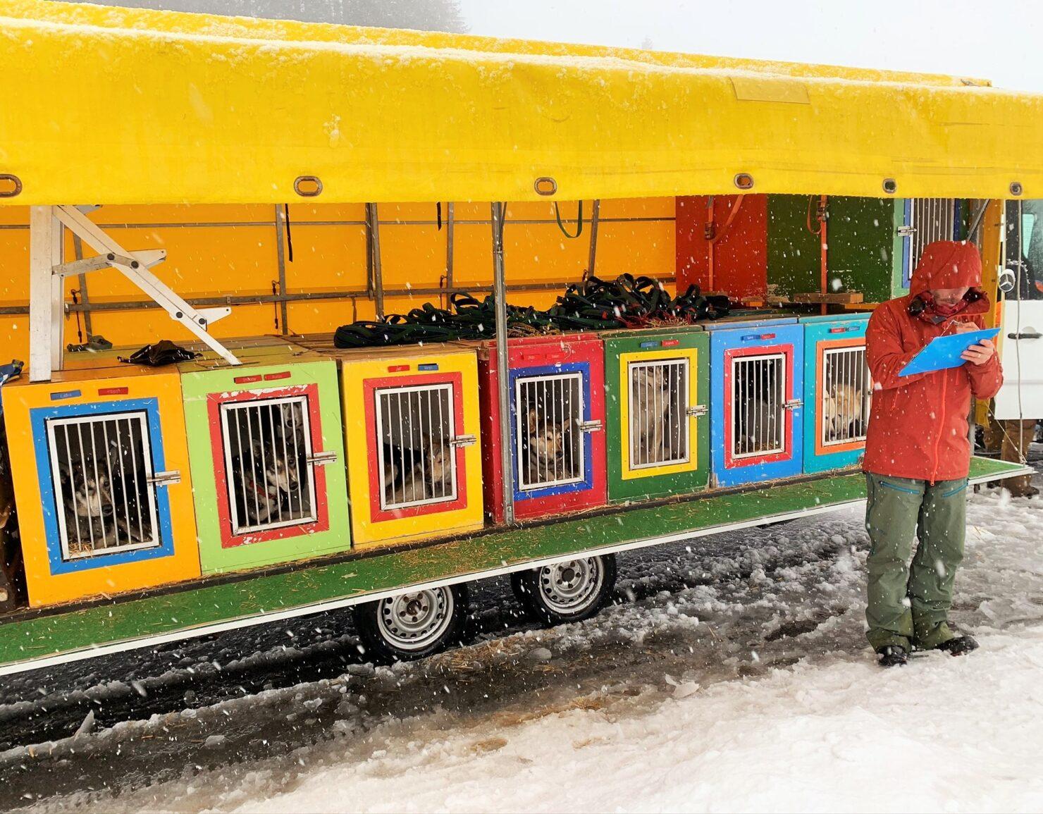 Huskytour - mit dem Postauto auf die Schwägalp