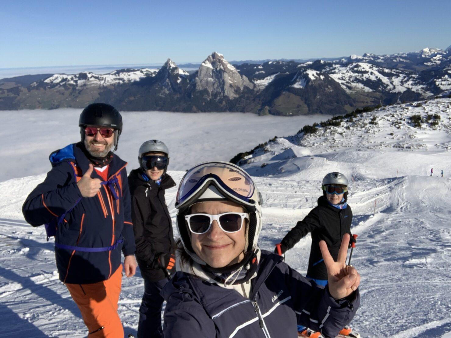 Skifahren auf dem Stoos – ein Erlebnis für die ganze Familie