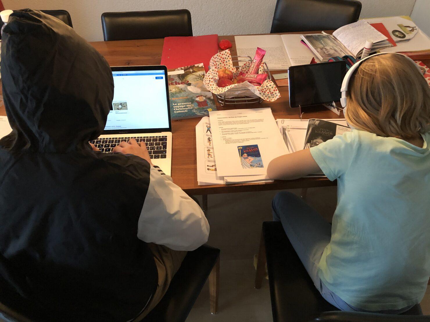 Homeschooling in Corona-Zeiten - Idealbild versus Realität