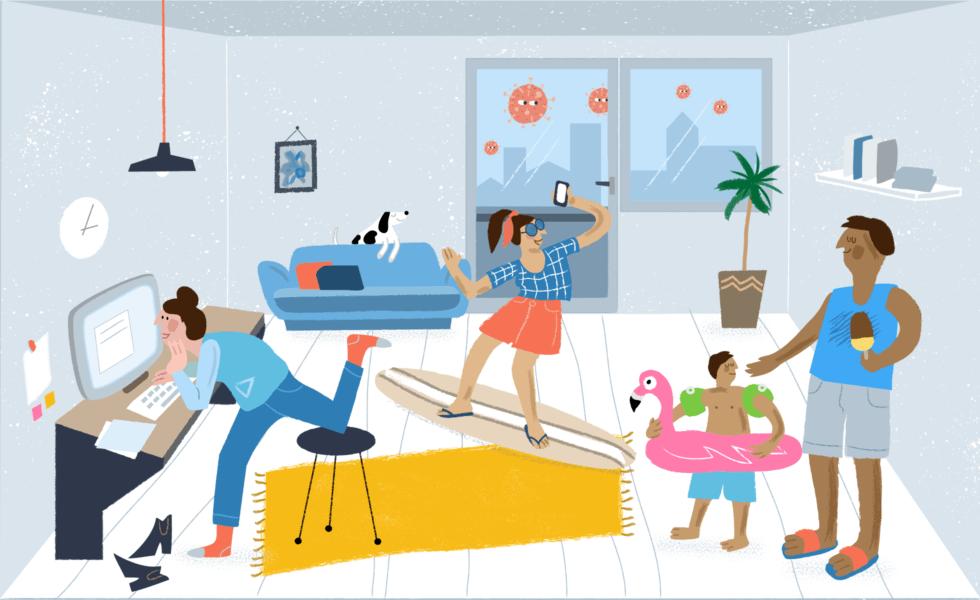 Familienferien zu Coronazeiten - Tipps für Ferien-Feeling zu Hause