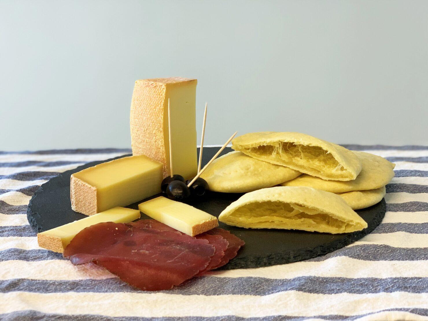 Brot backen ohne Hefe - pane azzimo