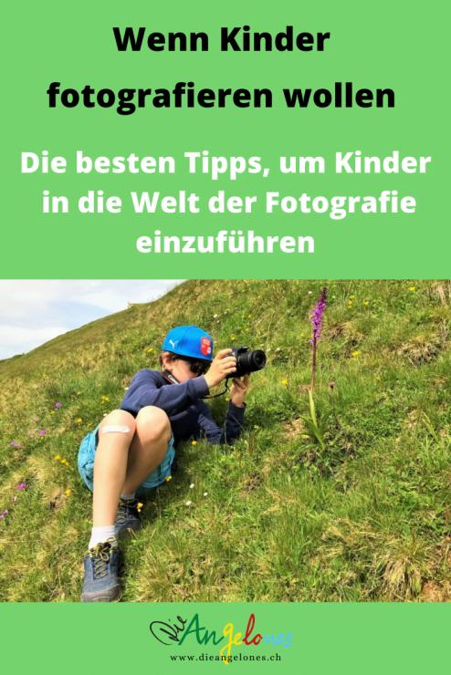 Mit dem Fotografieren können Kinder früh beginnen. Mit eigenen Kinderkameras bzw. später mit Digitalkameras ausgestattet, können Kinder selber auf Foto-Entdeckungstour gehen und das fotografieren, was sie als interessant finden.