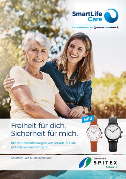 Notruflösungen sind kein Tabu-Thema mehr bei älteren Menschen. Sie bieten Seniorinnen und Senioren Freiheit und Sicherheit und entlasten die Angehörigen.