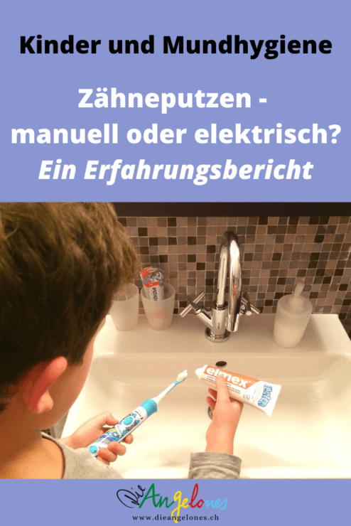 Zähneputzen bei Kindern - elektrisch oder manuell? Welche Zahnbürsten kommen bei Kindern in Frage und was tauen sie? Die heutigen Schallzahnbürsten sind handlich und erschwinglich und fördern die Motivation fürs Zähneputzen bei Kindern.