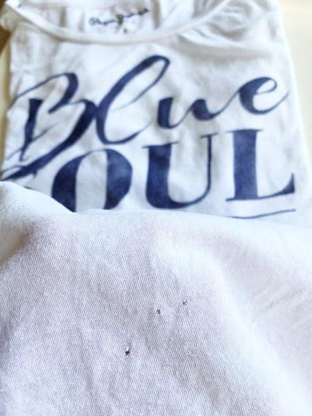 Löcher im T-Shirt - Motten, Waschmaschine oder böse Absicht des Herstellers?