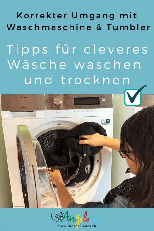 Für ein sparsames und umweltschonendes Wäschewaschen und -trocknen ist nicht nur die Technik der Waschmaschine und des Tumblers entscheidend. Auch das eigene Verhalten trägt wesentlich dazu bei, ein gutes Waschergebnis zu erzielen und zugleich Portemonnaie und Umwelt zu entlasten.