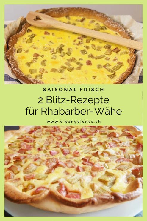 Rhabarber ist ein Frühlingsgemüse, das nur im Mai und im Juni zur Verfügung steht. Es gilt also, diese einzigartige, farbenfrohe Stange in vollen Zügen zu geniessen, wenn sie Saison hat. Zum Beispiel als süss-saure Wähe - ein Klassiker der Schweizer Küche! Wir haben zwei einfache und gelingsichere Rezepte für euch parat.