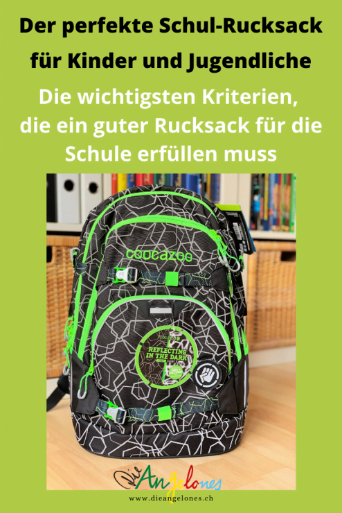 """Was heisst """"ein guter Rucksack"""" für die Schule? Worauf sollten Eltern und Kinder achten? Welches sind die entscheidenden Krieterien? Wir berichten euch von unseren Erfahrungen."""