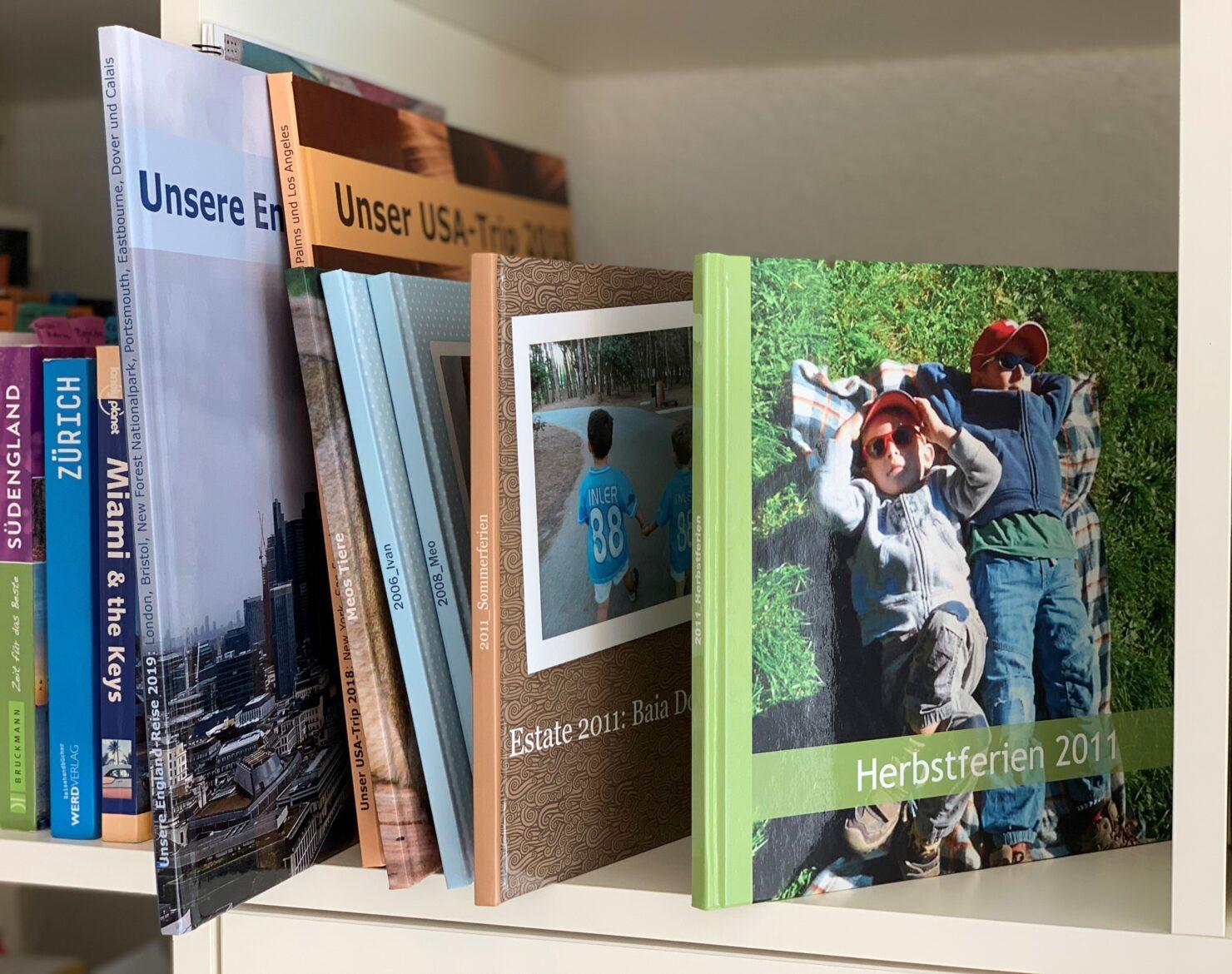 Fotobücher halten die schönsten Erinnerungen fest