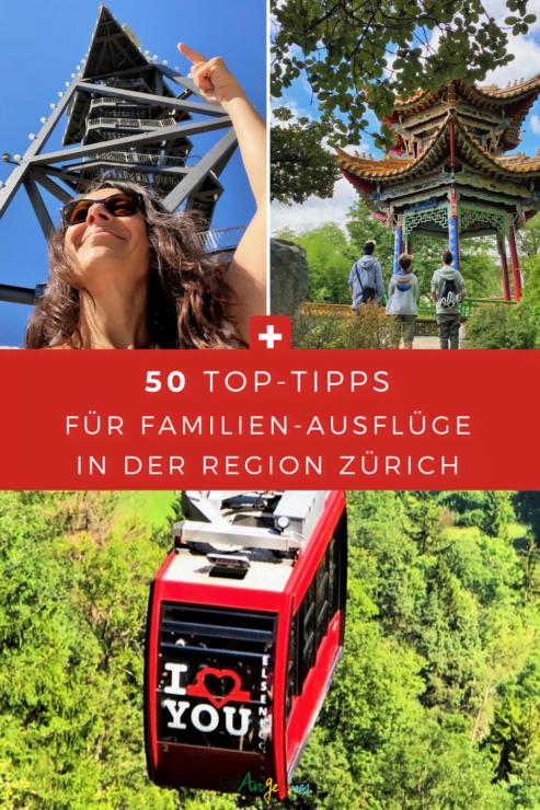 In der Region Zürich gibt es viele schöne Ausflugsziele für Familien. Fünfzig davon sind in der tollen ZVV-Freizeit-App zusammen gefasst. Das Beste dabei: Wer auf den Erkundungstouren die Freizeit-App nutzt, kann Punkte sammeln und sie gegen tolle Preise einlösen.