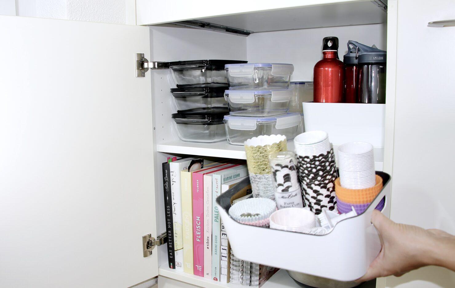 Ordnung in der Küche - Tipps und Ideen für mehr Küchenordnung