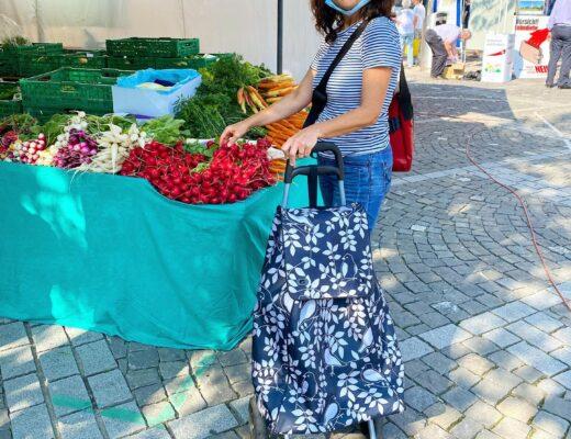 Saisonal und lokal einkaufen