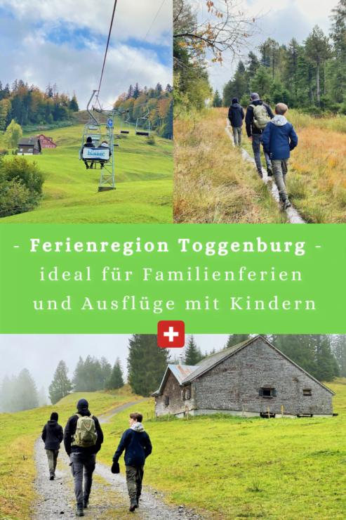 Das Toggenburg ist eine ideale Region für Familienferien und Ausflüge mit Kindern. Insbesondere die Klangwelt ist für Familien spannend.
