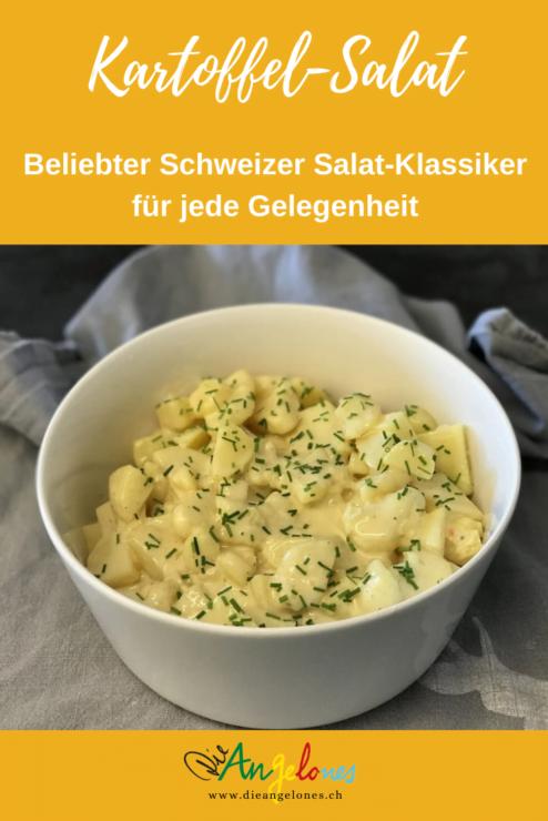 Kartoffelsalat ist eine sehr beliebte und vielseitige Beilage zu verschiedenen Gerichten. Am häufigsten wird er zu Wurst und Fleisch serviert.