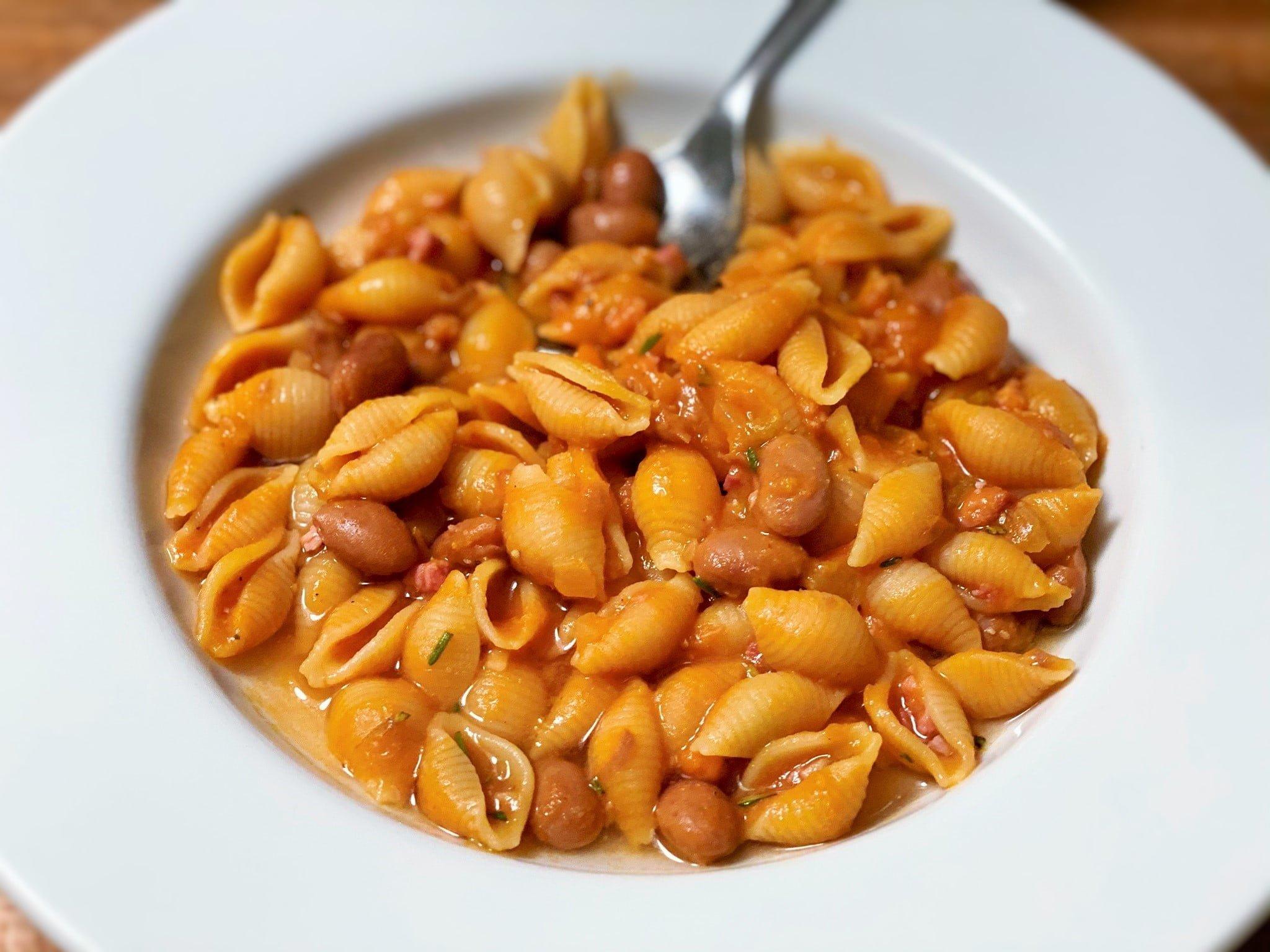 Pasta e fagioli Suppe Rezept