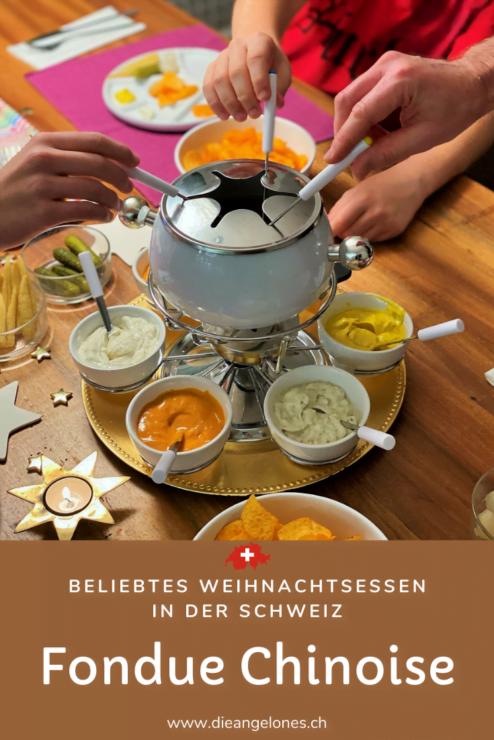 Fondue Chinoise - kaum ein anderes Gericht ist in der Schweiz während der Advents- und Weihnachtszeit so verbreitet und beliebt! Es stammt aus China, ist einfach vorbereitbar, vielseitig interpretierbar und sorgt für gute Stimmung am Festtagstisch.