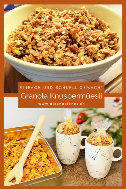 Granola gehört in den USA zu den beliebtesten Frühstücksvarianten. Das amerikanische Knuspermüesli ist einfach und schnell selbst gemacht.