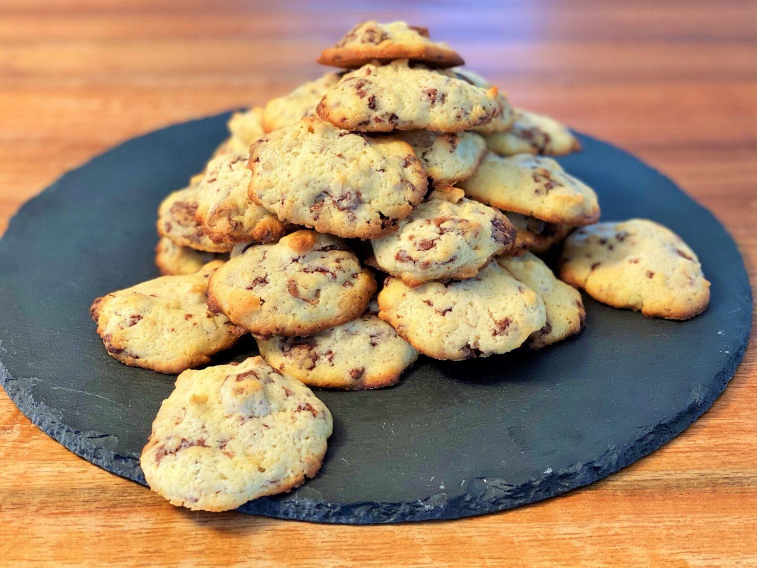 Cookies Schokolade-Resten verwerten
