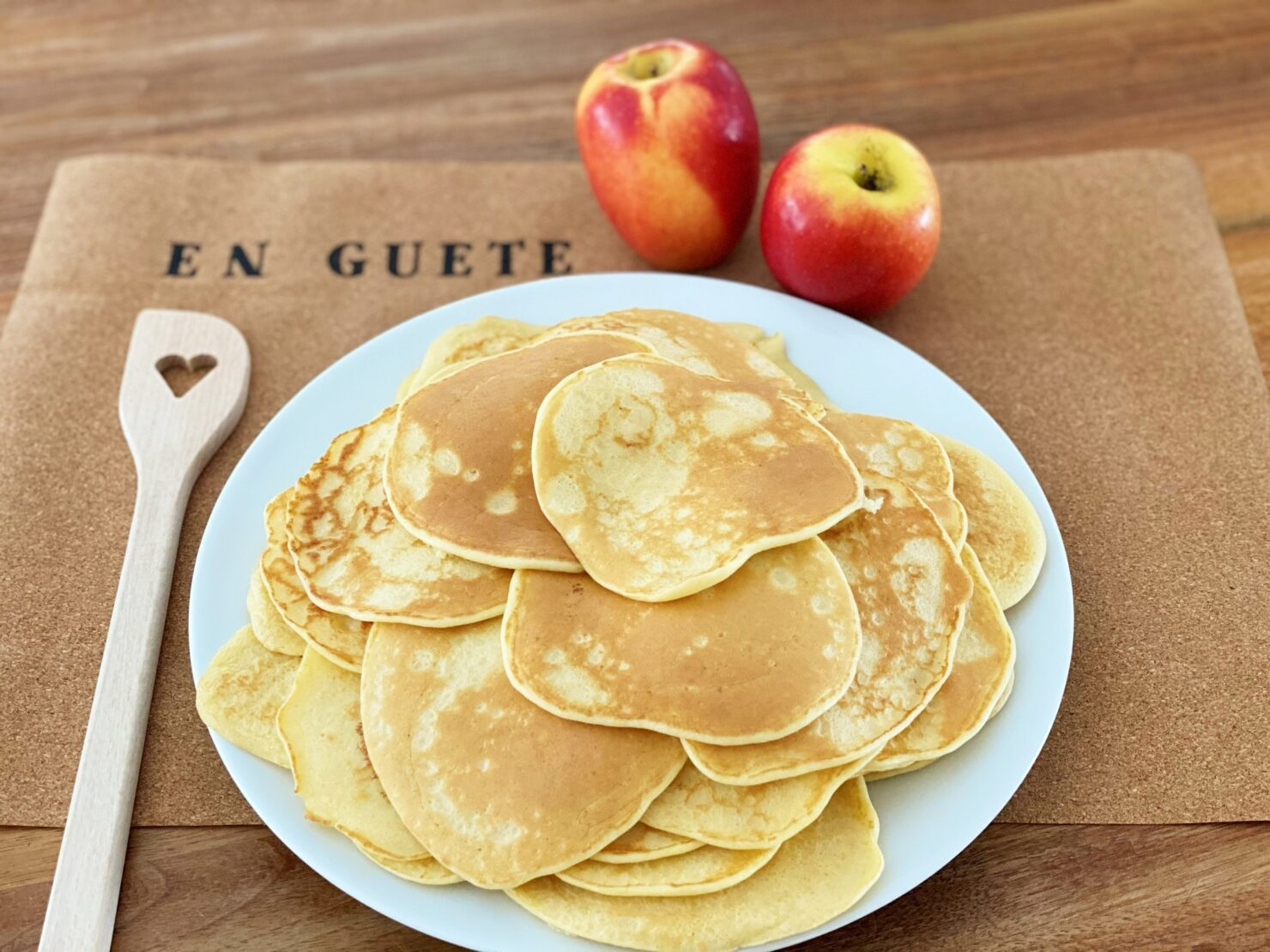 Apfel-Pancakes all'italiana