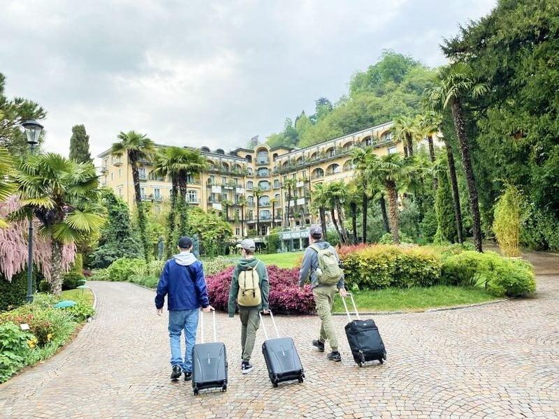 Familienwochenende im Tessin - Villa Castagnola Lugano