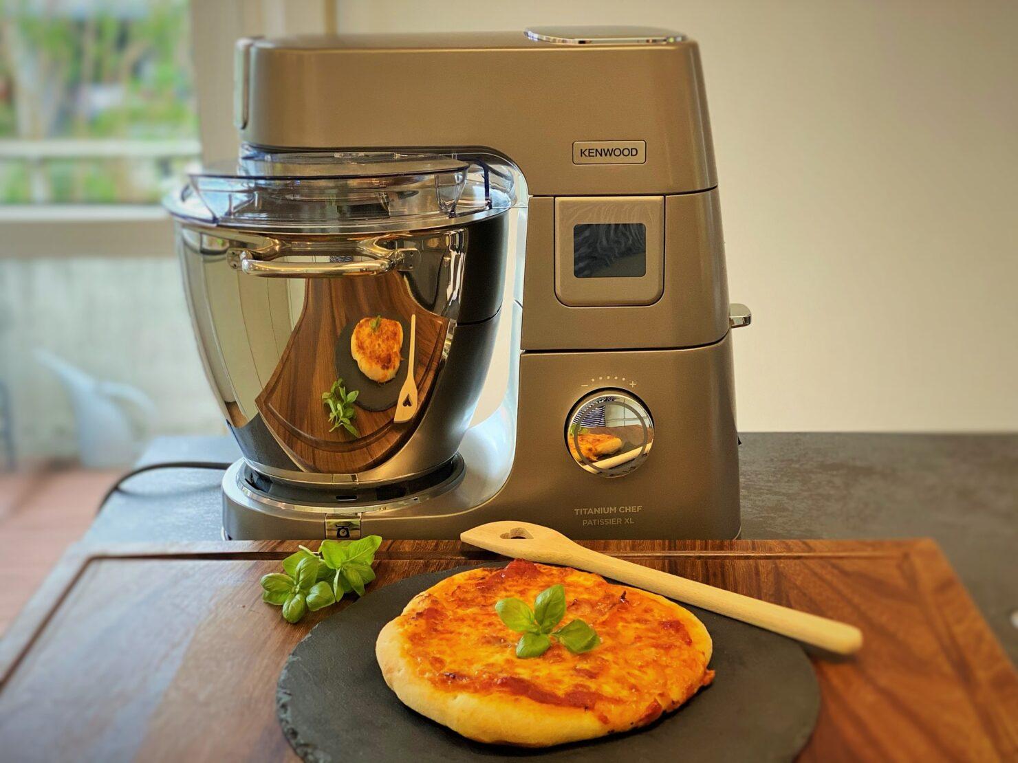 Pizzateig selber machen mit Kenwood