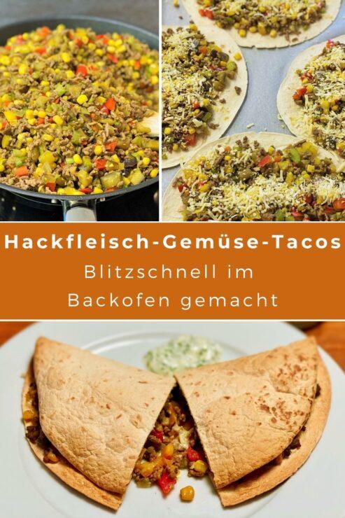In der mexikanischen Küche sind Fladengerichte sehr beliebt. Davon gibt es gleich in paar, die ähnlich aussehen und zubereitet werden, aber unterschiedlich heissen. Tortilla, Taco, Burrito oder Fajita? Habt ihr den Durchblick, welches Fladengericht wie aussieht und bezeichnet wird? Wir haben uns schlau gemacht und gleich ein Rezept für Hackfleisch-Gemüse -Tacos ausprobiert!