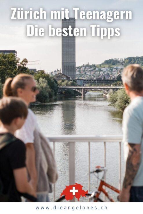 Ob für eine Tagestour, ein Wochenendtrip oder einen Ferienaufenthalt - Zürich hat für Familien mit Teenagern viel Cooles zu bieten. Sowohl Stadtfans und Sportbegeisterte als auch Naturfreunde und Kulturliebhaber kommen in der Limmatstadt auf ihre Kosten. Vier abenteuerlustige Familien mit Kids im Teenageralter geben euch die besten Tipps für jugendgerechte Unternehmungen und verraten euch die angesagtesten Plätze und Aktivitäten in Zürich und der Region rund um den Zürichsee!