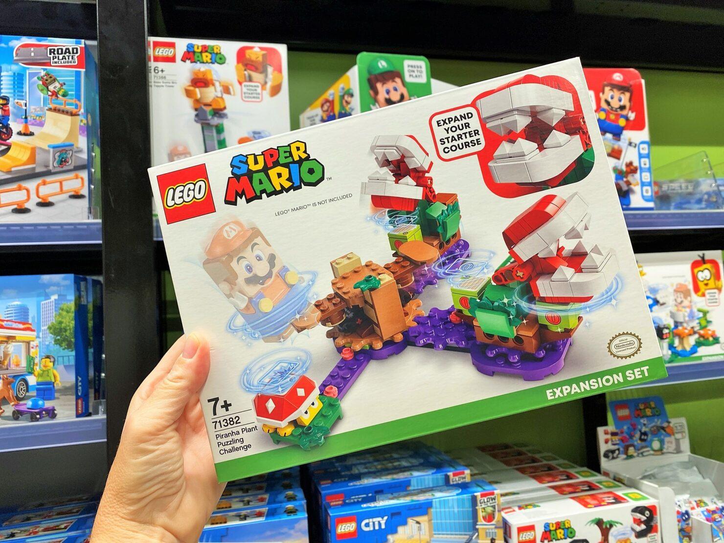 Super Mario - von digital zurück zu analog