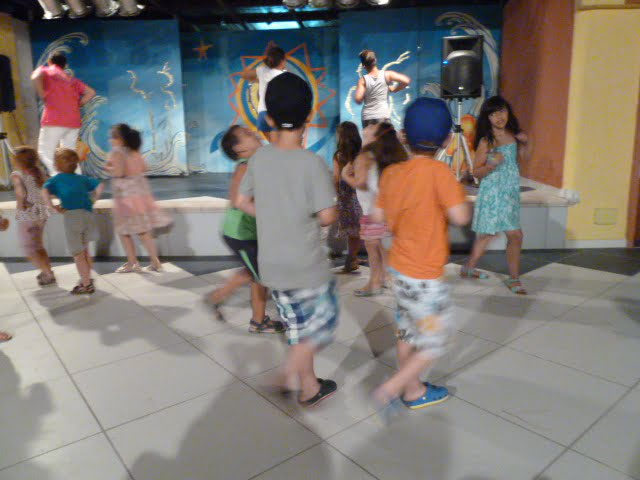 Tanzen mit Kindern