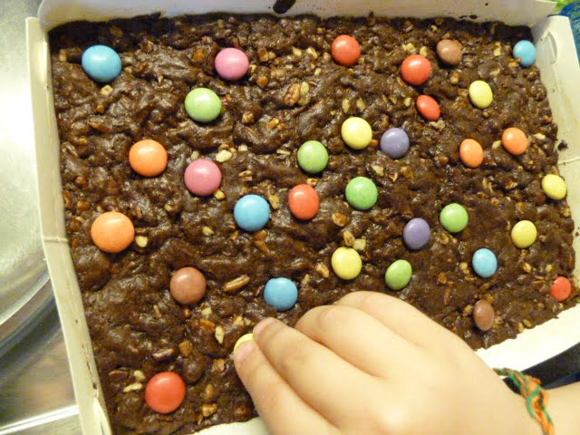 Geburtstag Kuchen Brownies