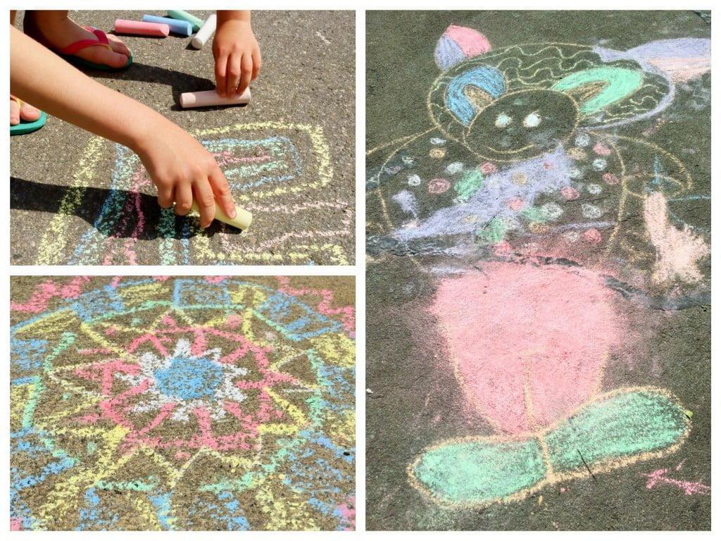 Strassenkreide: Spiele, Spass und Street Art