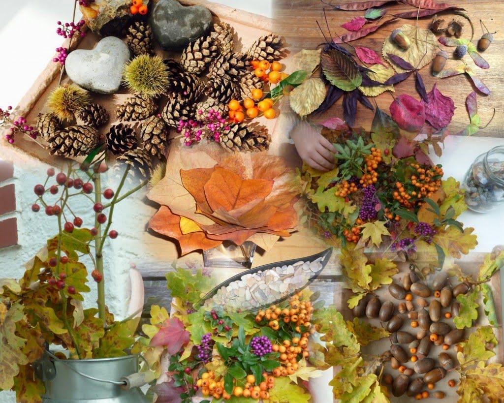 Bunter Deko-Zauber: Der Herbstwald zu Gast in unserem Heim