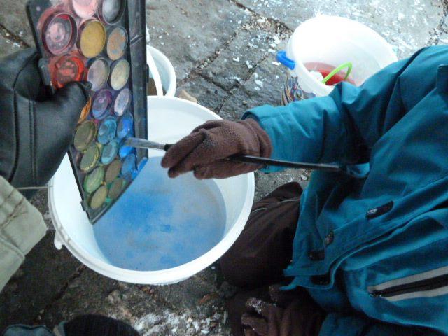 Eiskunstwerke selber machen