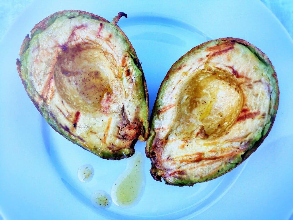 Grillierte Avocado