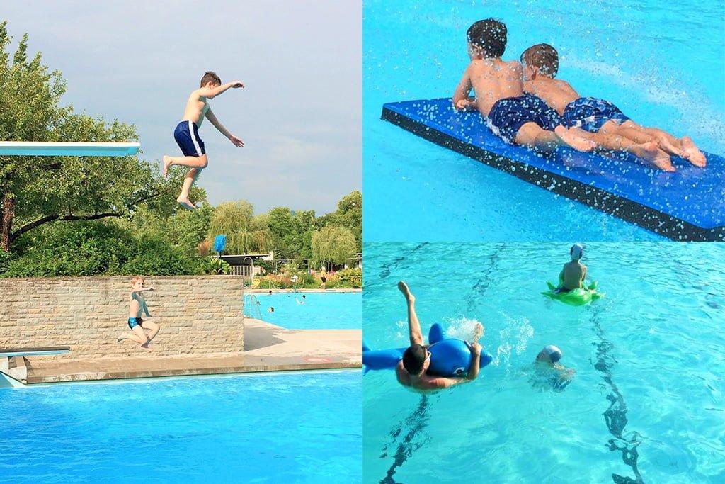 Ab welchem Alter dürfen Kinder alleine ins Schwimmbad?