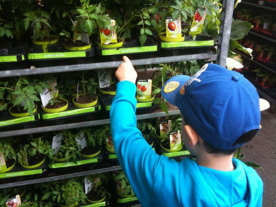 Gärtnern mit Kindern