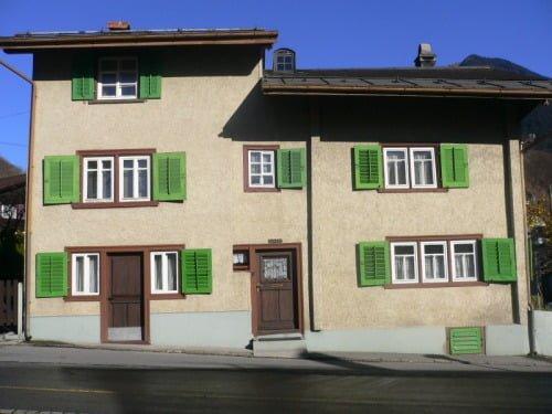 Mein Elternhaus in Schwanden im Glarnerland