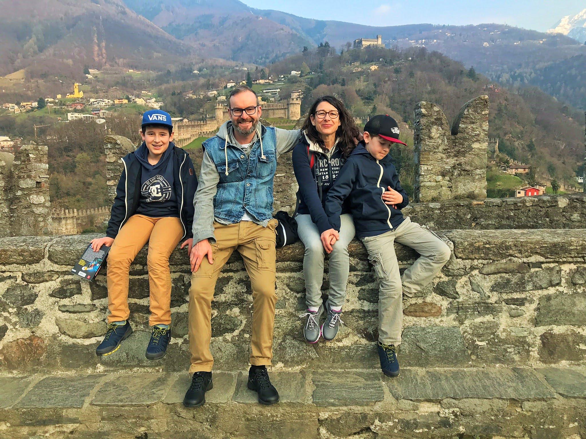 Blogger-Wochenende im Tessin Wandern mit Familien