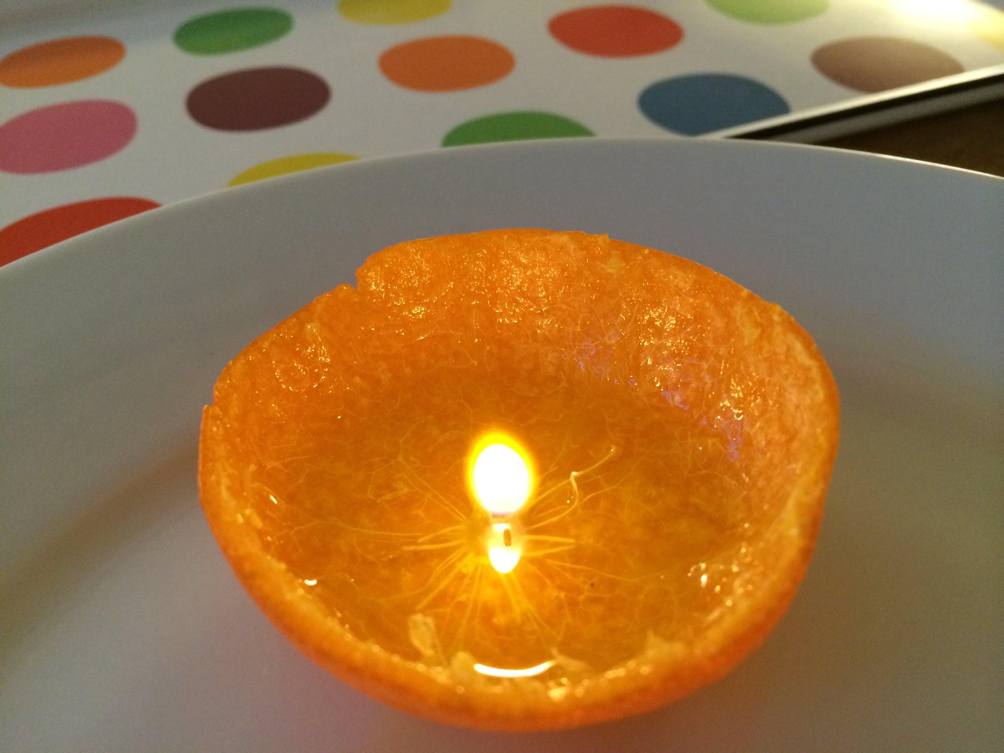 Ölkerze Mandarine