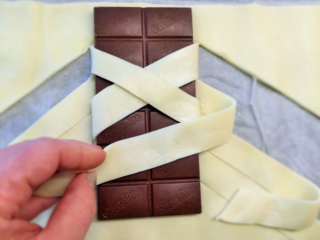 Schokoladenzopf - lauwarmer Traum