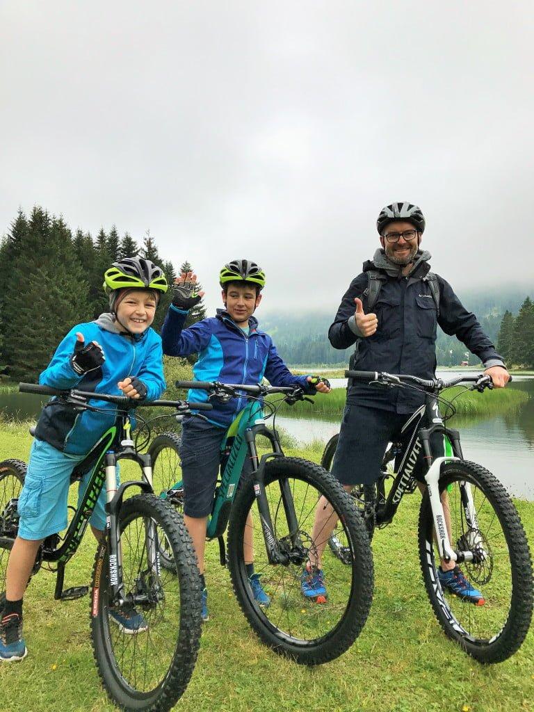Sommerferien mit der Familie Graubünden Lenzerheide
